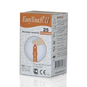 EASY TOUCH Тест-полоски на мочевую к-ту 25шт