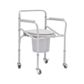 Кресло-коляска с санитарным оснащением для инвалидов H 021B
